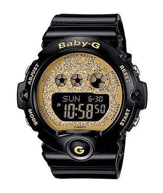 #GayaRaya Gshock baby-G super glitter black gold edition