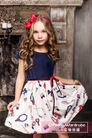 Be Riotous With Colour Frog Girls Dress