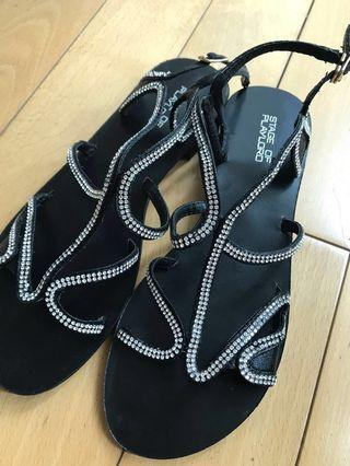 ⚡️🈹(New) Stage of Playlord size37 sandals 全新女裝夏涼鞋拖鞋
