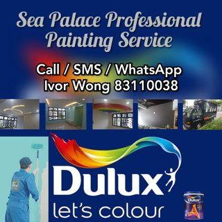 🇸🇬 Professional Painting Services! Home Improvement! 室内/室外专业油漆工程服务。🐘
