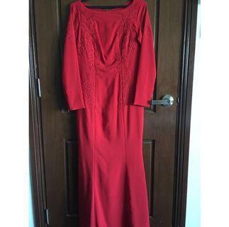 Syomir Izwa x Suri Sara dress (red) [NEW]
