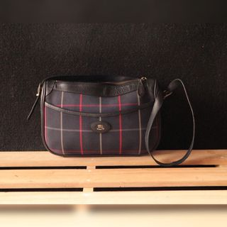 aa7f5736a6a2 AUTH BURBERRY SLING BAG