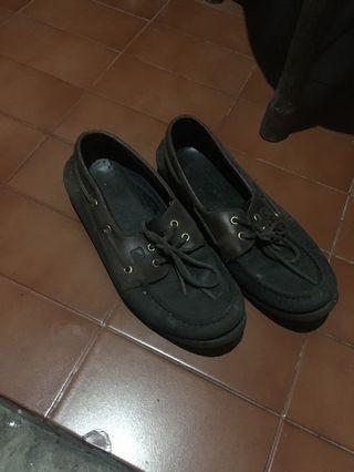 #bapau Sepatu sperry black amaretto