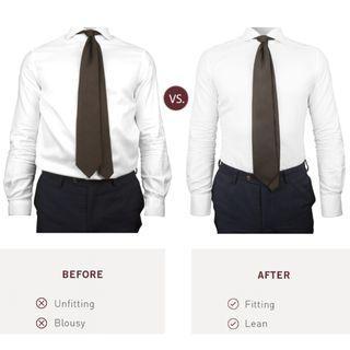 KK&Jay Shirt Tucking Garters, Solid Black colour