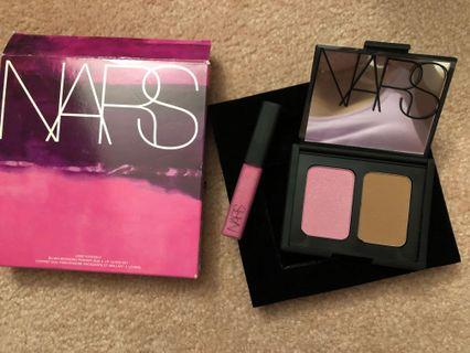 Bnib full size NARS Angelika blush/Laguna bronzer and Angelika mini lipgloss