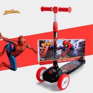 寶林站 迪士尼 漫威 蜘蛛俠 滑板車 Disney Marvel Spider Man Twist Scooter