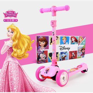 寶林站 迪士尼 漫威 公主 滑板車 Disney Marvel Princess Twist Scooter