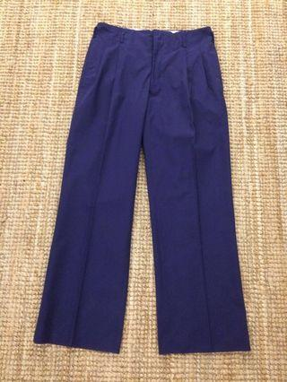 Vintage King Guard drop loops pant