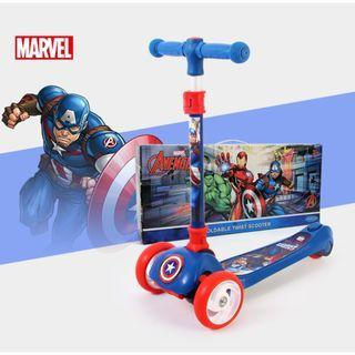 寶林站 迪士尼 漫威 美國隊長滑板車 Disney Marvel Captain America Twist Scooter