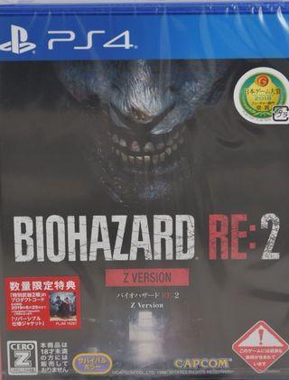 徵求 biohazard 2 日版 z version 血腥版 生化危機