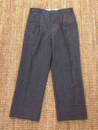 Vintage Crestman glen plaid wool pant