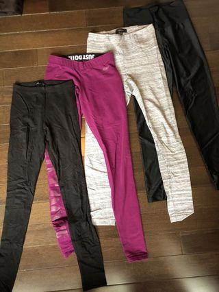 4 pairs of leggings all for $10