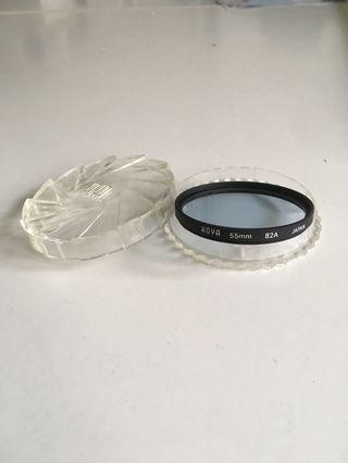 HOYA 55mm 82A Lens Filter Light Blue color correction
