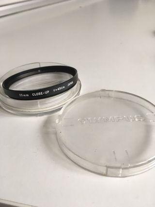 Olympus 55mm - F/40cm Om-System Close-Up Lens Filter