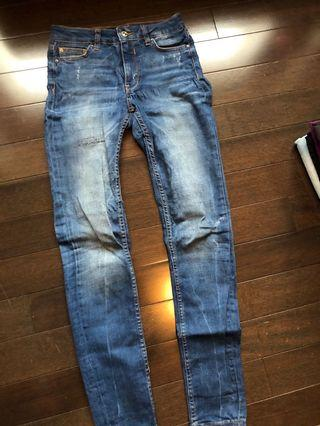 Zara denim pants size 24