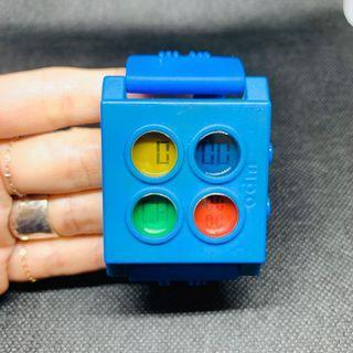 🚚 odm藍色積木樂高手錶
