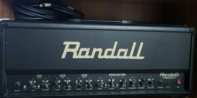 Randall rg1503 guitar amp