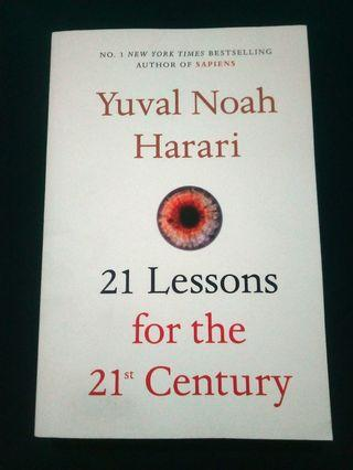 21 Lessons for the 21st Century | Yuval Noah Harari | TPB
