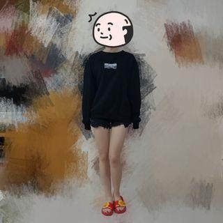 黑色衛衣 中性 男女 | Top Tee Hoodie