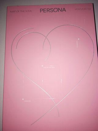 BTS Map Of The Soul Persona Official (unsealed) Jungkook photocard & postcard