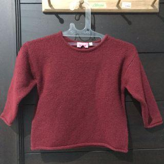Sweater Winter Red