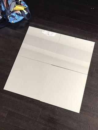 Mirrors (4 pieces) square shaped