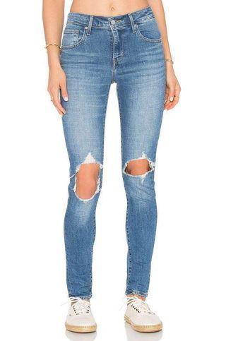 Levi's 721 High Rise Skinny Jeans Size 24