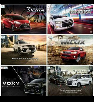 Cash dan Kredit Mobil Toyota