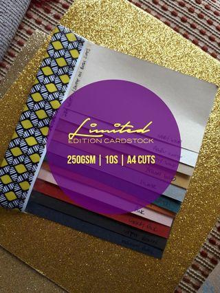 Limited Edition Cardstock 10S (250gsm)