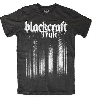 Blackcraft cult black metal forest tshirt size xs
