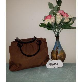 Pre owned authentic PRADA handbag