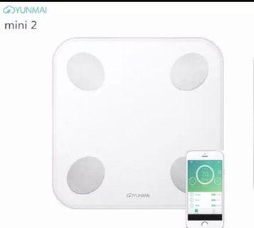 YUNMAI Mini 2 Balance Smart Body Fat Scale Intelligent Data Analysis APP Control Digital Weighing Tool from Xiaomi For Body Health Care !