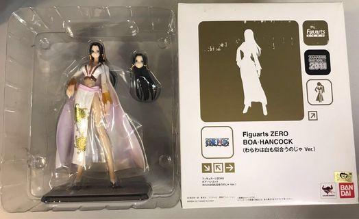 日版海賊王 one piece 女帝 漢哥古 figure bandai figuarts zero 會場 白衣 七武海 索柏路飛
