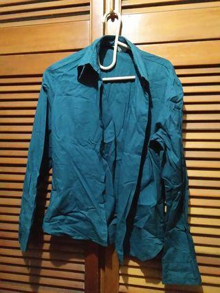 #BAPAU Baju kemeja biru