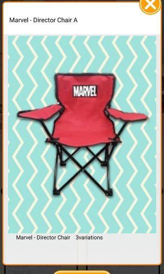 Marvel director chair