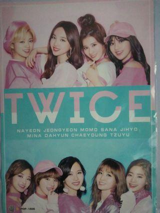 TWICE posters x5