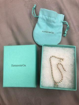 Tiffany & Co Bead Bracelet round Tag