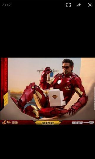 Hottoys ironman mark 4 diecast 合金