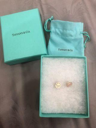 🚚 Tiffany & Co round yah ear studs