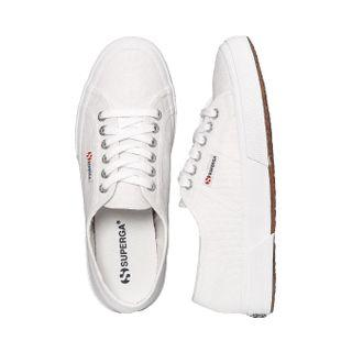 FREE DELIVERY! AUTHENTIC SUPERGA 2750 COTU CLASSIC IN WHITE SIZE:36.  🥰