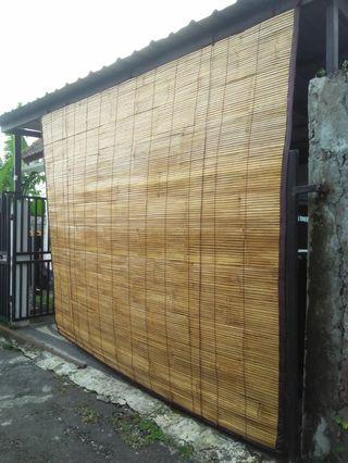 Krey Bambu putih Lapis kain #BAPAU