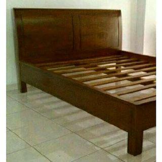 Tempat Tidur Jati Minimalis 180 x 200