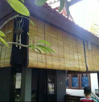 Krey bambu lapis kain #BAPAU