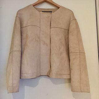 New Zara suede jacket