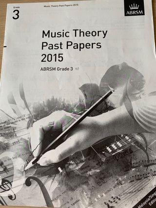 🚚 ABRSM 2015 Grade 3 Music Theory Past Papers