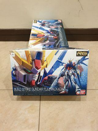 🚚 RG Build Strike Gundam Full Package
