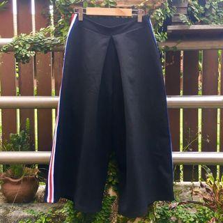 Kitschen Wide Pants Side Striped