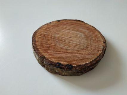 Rustic Wood Slice - 4.5inch - per pc