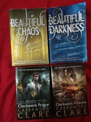 Beautiful Chaos, Beautiful Darkness, Clockwork Prince, Clockwork Princess