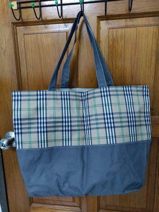 Big size canvas-like material Tote Bag